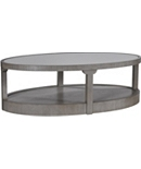 Renee Cocktail Table with Antiqued Mirror Top