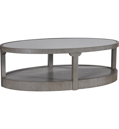 Renee Tail Table With Antiqued Mirror Top