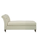 Marquette Made To Measure Tufted Armless Chaise