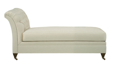 Marquette Made To Measure Tufted Armless Chaise  sc 1 st  Hickory Chair : armless chaise - Sectionals, Sofas & Couches