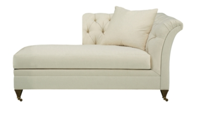 Marquette Tufted Left-Arm Facing Chaise  sc 1 st  Hickory Chair : left arm chaise lounge - Sectionals, Sofas & Couches