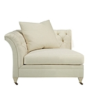 Marquette Tufted Corner Chair