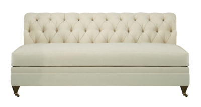 Marquette Made To Measure Tufted Armless Sofa from the Hartwood