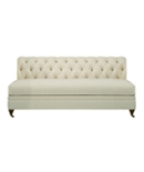 Marquette Made To Measure Tufted Armless Sofa