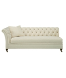 Marquette Made To Measure Tufted Left-Arm Facing Sofa
