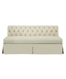 Marquette Made To Measure Tufted Dressmaker Armless Sofa