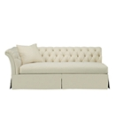 Marquette Made To Measure Tufted Dressmaker Left-Arm Facing Sofa