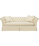 Marquette Made To Measure Tufted Dressmaker Left-Arm Facing Corner Sofa