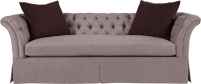 Marquette Tufted Dressmaker Sofa
