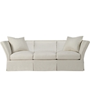 Pershing Dressmaker Sofa with Loose Pillow Back