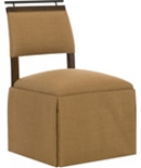 Taperback Side Chair with Handle