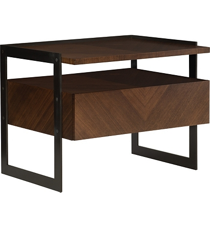 Outstanding Barstock Side Table From The Ray Booth Collection By Machost Co Dining Chair Design Ideas Machostcouk