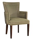 Flare Back Dining Arm Chair