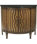 Continental Demi-Lune Cabinet