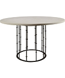Astor Center Table with Stone Top