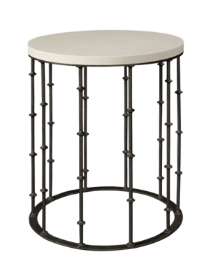 Astor Side Table With Stone Top