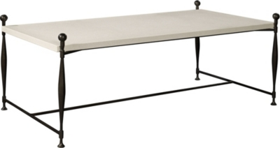 Ionia Coffee Table with Stone Top from the Hartwood collection by
