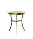 Sienna Side Table with Marble Top