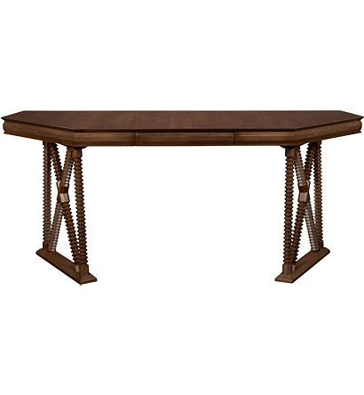 Otto Console Desk From The Hartwood Collection By Hickory Chair Furniture Co