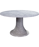 Miami Center/Breakfast Table Base and Stone Top