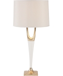 Cream Foy Lamp