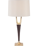 Chocolate Foy Lamp