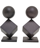 Astor Sculptural Bookends