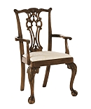 Connecticut Ball and Claw Arm Chair