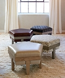Ottomans, Benches & Foot Stools
