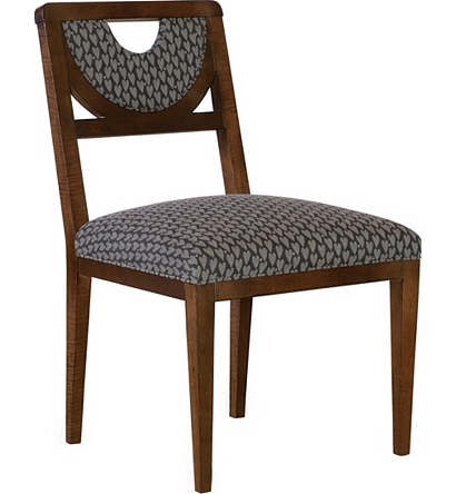 Half Moon Dining Side Chair From The, Half Moon Furniture