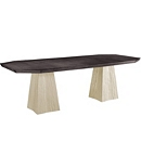 Lark Dining Table Top / 2 Pedestals