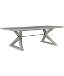 "Freya 96"" Dining Table Base & Top"
