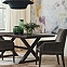 """Suit Dining Table Base and Freya Dining Table Top 76"""""""