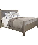 Jess Queen Bed (Upholstered Headboard)