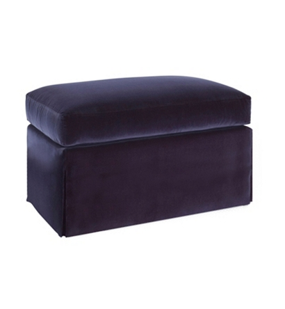 Jules Dressmaker Ottoman From The Atelier Collection By
