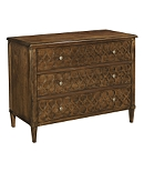 Murano Chest with Wood Top