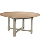 Piedmont Square Table Base & Campagne 60-inch Table Top