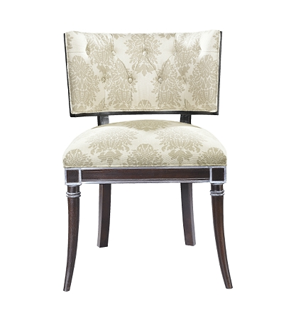 gabrielle side chair from the atelier collection by hickory chair