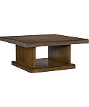 Chase Reeded Square Cocktail Table