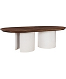 Ray Pedestal Base Only (For Wood Top Only)