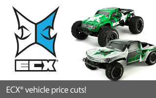 Save on Selecte ECX Cars and Trucks RC 1-10 Scale Torment 2WD RTR SCT Ready To Run Short Course