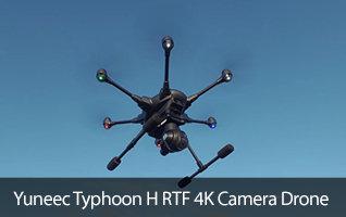 Yuneec Typhjoon H RTF 4K Camera Drone