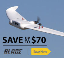 Save $70 on the Blade FPV Manta RC Flying Wing