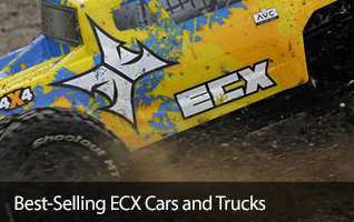 ECX Best Sellers Ruckus Torment Circuit Roost Boost