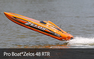 Pro Boat Zelos 48-inch Brushless RC Catamaran