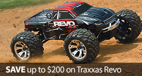 Save Traxxas Revo TSM 3.3 Electric Nitro
