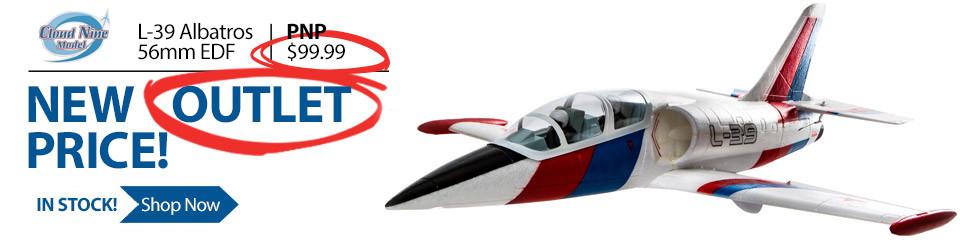Cloud 9 L-39 Albatros EDF PNP Plug n Play