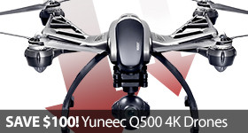 Save Sale $100 Discount Yuneec Q500