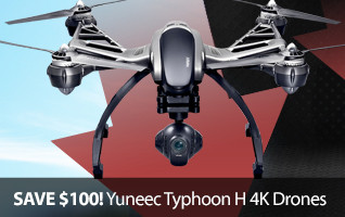 Yuneec Q500 Drone 4K Camera RTF Ready To Fly