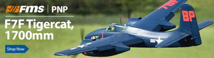 FMS F7F Tigercat PNP RC Parkflyer Warbird Airplane